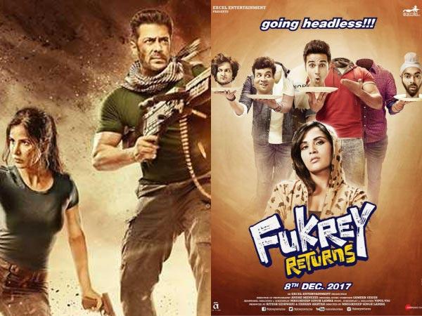 फुकरे रिटर्न्स के रास्ते में रोड़ा बन रही है सलमान की ये फिल्म...क्या 100 करोड़ पहुचेगी?