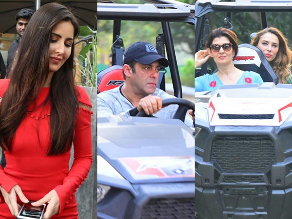 SHOCKING...सलमान खान ने EX-GIRLFRIEND'S और FAMILY के साथ मनाया BIRTHDAY