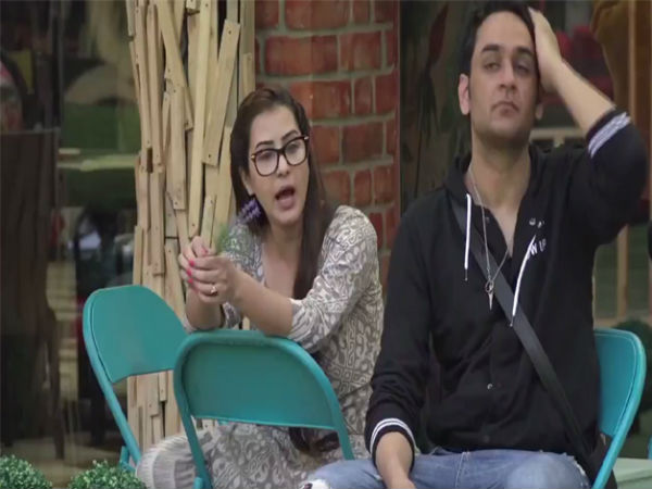 BIGG BOSS..शिल्पा शिंदे और विकास गुप्ता...सीक्रेट रूम ENTRY..VIDEO ALERT