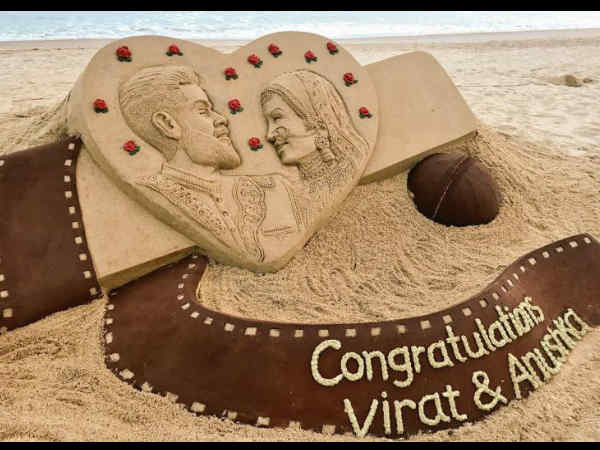 शानदार है विराट-अनुष्का को शादी की बधाई देने का यह तरीका..क्या देखा आपने!