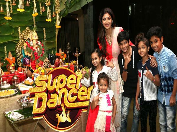 शिल्पा शेट्टी-सुपर डांसर 2