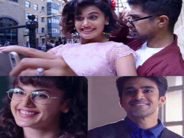 तापसी पन्नू की फिल्म 'दिल जंगली' का ट्रेलर हुआ रिलीज...दोस्ती, मस्ती और कॉमेडी का तड़का