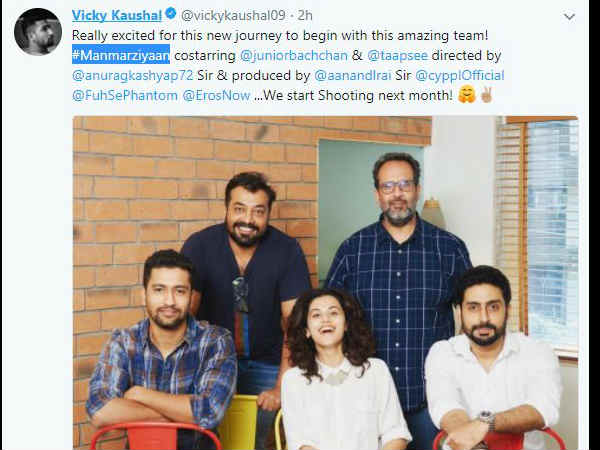 anurag-kashyap-next-movie-manmarziyaan-starring-abhishek-bachchan-vicky-kaushal-taapsee-confirmed