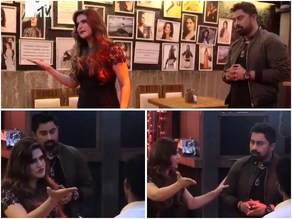 VIRAL VIDEO : जरीन खान ने टीवी पर युवक से कहा 'दूं एक तमाचा तो वहीं जाकर गिरेगा'