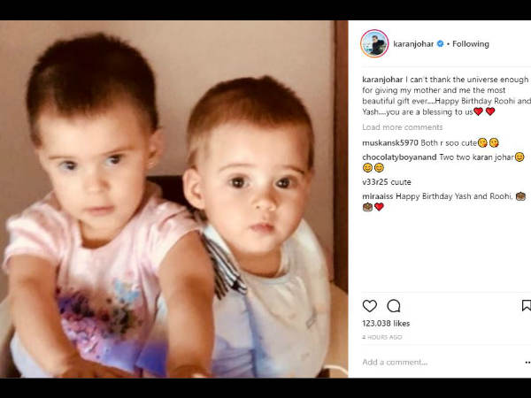 karan-johar-shares-heartfelt-message-for-his-kids-yash-roohi-on-their-first-birthday