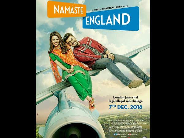 नमस्ते इंग्लैंड का शानदार First LOOK.. अजय देवगन को देंगे जबरदस्त टक्कर!