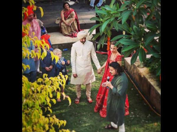 बेटी के जन्म के दो सालों बाद पूरब कोहली ने रचाई शाादी, देखें FIRST PIC