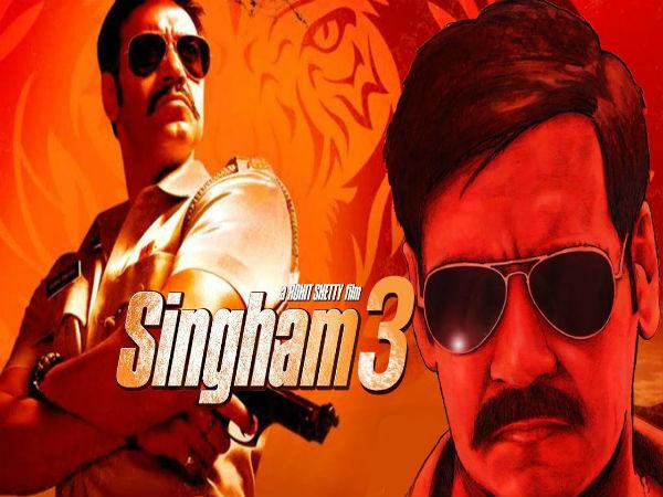 TRAILER -अजय देवगन का 'सिंघम 3' धमाका, अप्रैल में आएगा तुफान