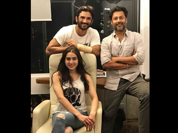 sushant-singh-rajput-shares-picture-with-sara-and-abhishek-kapoor-is-proof-that-movie-is-not-shelve