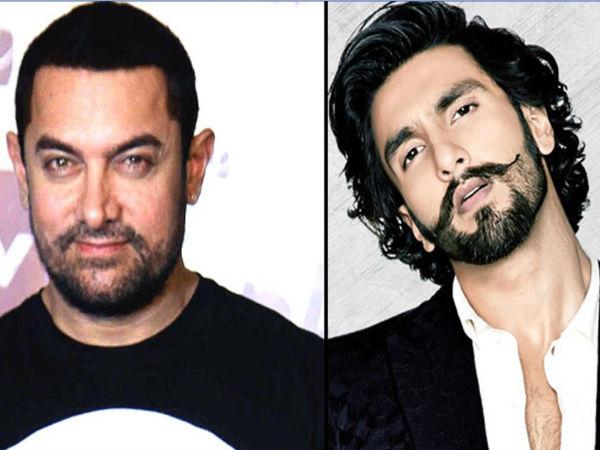 आमिर खान ने रणवीर सिंह से छीना ये प्रोजेक्ट, भारी पड़ा आमिर का स्टारडम