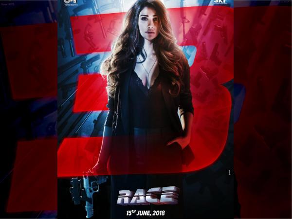 सलमान की 'रेस 3'.. नया पोस्टर रिलीज, डेजी शाह का दमदार First LOOK