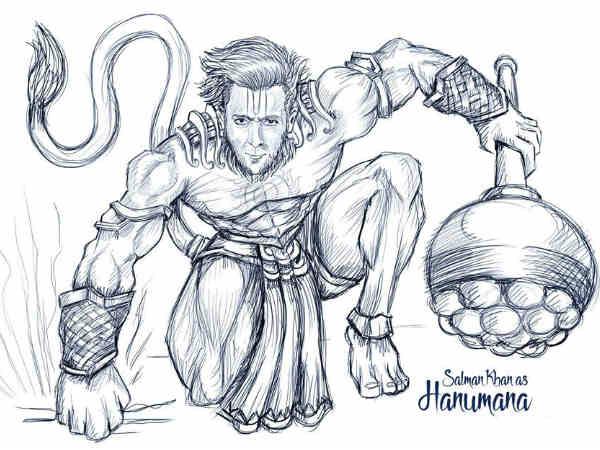 हनुमान - सलमान खान
