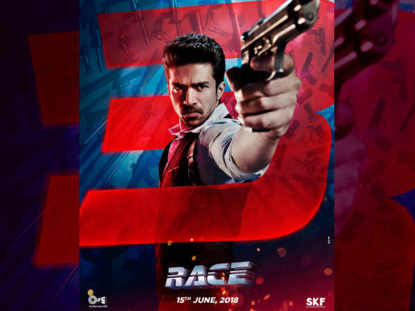 'रेस 3' का नया पोस्टर रिलीज, साकिब सलीम का 'एंग्री यंग मैन' First LOOK