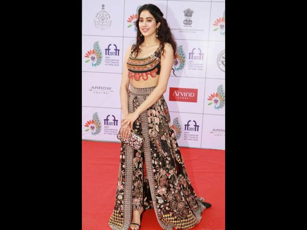 Shri Devi's daughter jhanvi will show her on the red carpet at Cannes Film Festival