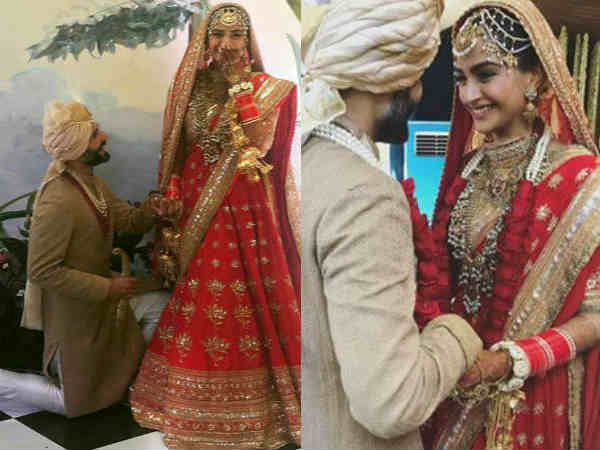 Sonam Kapoor and Anand Ahuja wedding 14 best pictures