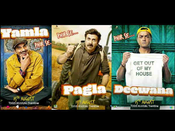 yamla-pagla-deewana-Phir-Se-first-posters-know-it-will-be-different-from-last-two-films