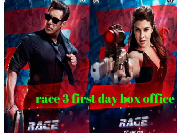 Race 3 Box Office : Day 1, Friday collections