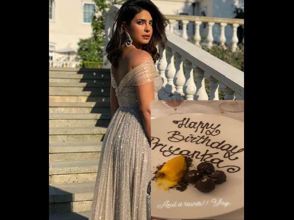 Happy bday Priyanka: सामने आई प्रियंका चोपड़ा की पहली तस्वीर, लंदन में मनाया 36वां जन्मदिन