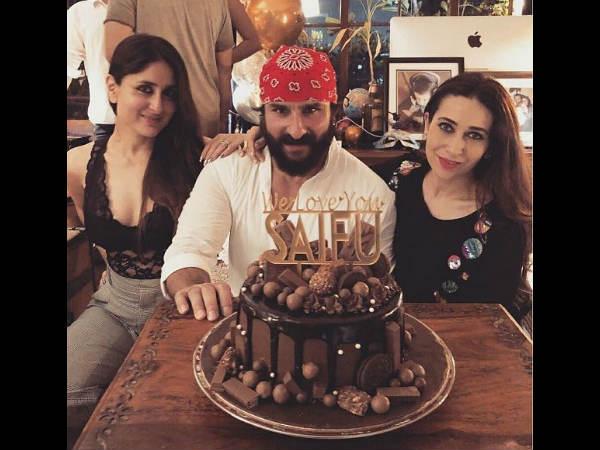 Birthday pics: सैफ अली खान ने मनाया जन्मदिन, सामने आई केक की खूबसूरत तस्वीर