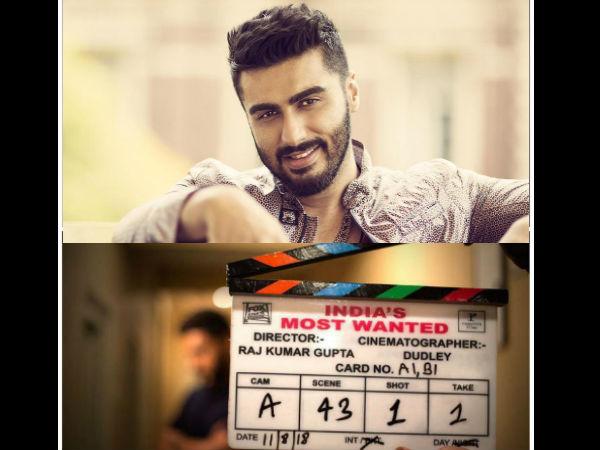 इंडियाज मोस्ट वांटेड: अर्जुन कपूर ने शुरु की फिल्म की शूटिंग, फोटो वायरल