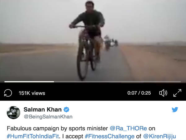 सलमान खान ने 50 पार के बाद किया धमाका - हम फिट तो इंडिया फिट के नए सुपरस्टार