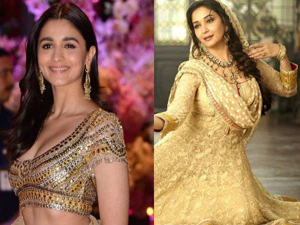 कलंक: माधुरी दीक्षित के साथ फिल्म कथक करती नजर आएंगी आलिया भट्ट, कर रही है तैयारी