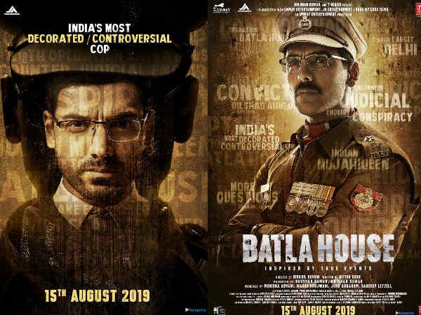 बाटला हाउस पोस्टर: आ गई एनकाउंटर की लिस्ट, जॉन अब्राहम के दो धमाकेदार पोस्टर्स रिलीज