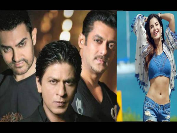आमिर और शाहरुख से बेहतर अभिनेता है सलमान खान, कैटरीना कैफ ने दिया बेबाक जवाब