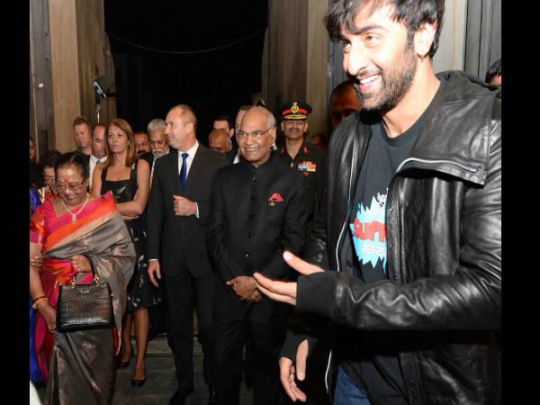 ब्रह्मास्त्र के सेट पर बुल्गारिया पहुंचे राष्ट्रपति रामनाथ कोविंद, रणबीर-आलिया संग क्रू से मिले