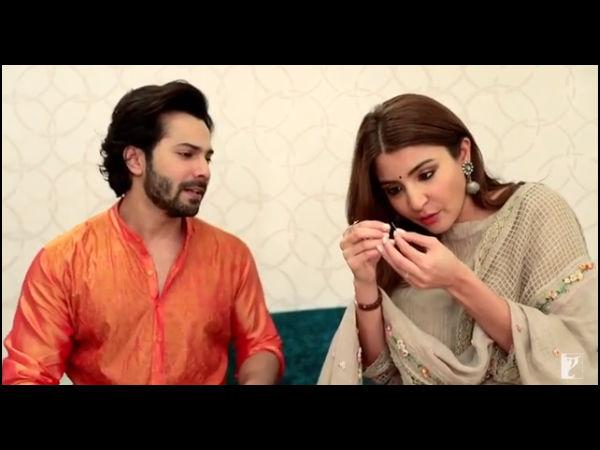 SuiDhaagaChallenge: वरुण और अनुष्का ने शाहरुख खान को दिया चैलेंज, देखिए Video