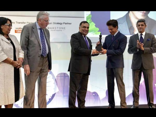 भारत-ब्रिटेन शिखर सम्मेलन में शाहरुख खान को सम्मानित किया गया, गेम चेंजर का मिला खिताब