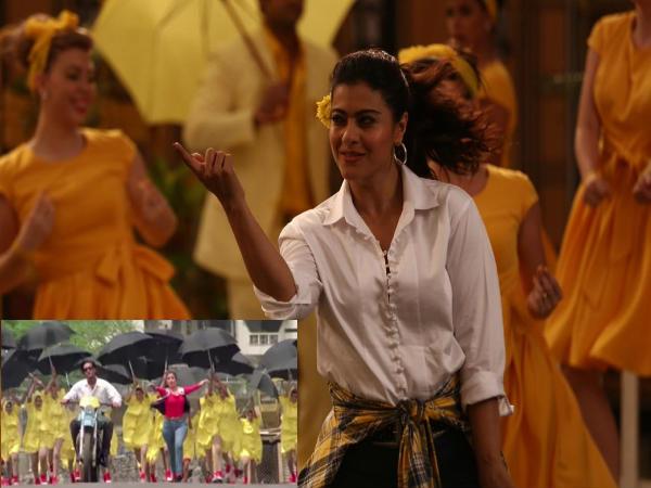 हेलीकॉप्टर ईला: अजय देवगन और तब्बू के सुपरहिट गाने रुक रुक  में नाचती आएंगी काजोल