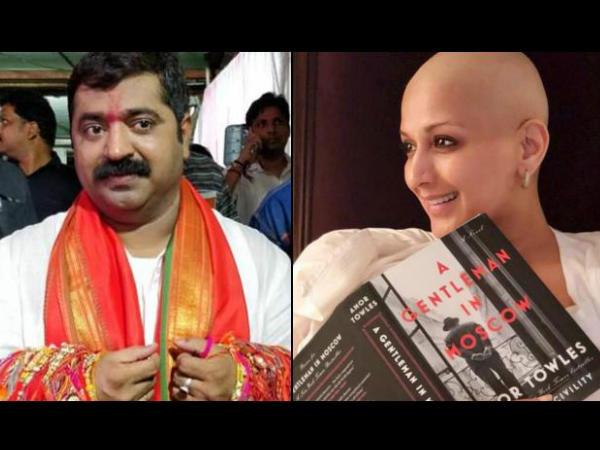 सोनाली बेंद्रे की मौत की झूठी खबर पर भड़के उनके पति, बिना नाम लिए बीजेपी नेता पर साधा निशाना