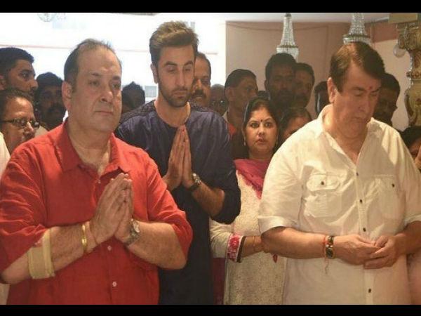आखिरी बार आरके स्टूडियो पहुंचे गणपति बप्पा, रणधीर कपूर की आंखों में आए आंसू, Video वायरल