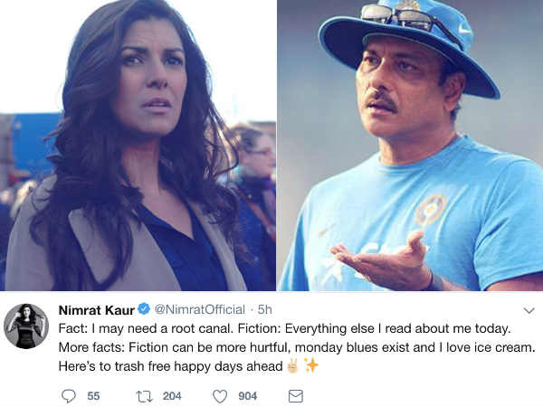 nimrat-kaur-denies-dating-ravi-shastri-as-per-the-rumors
