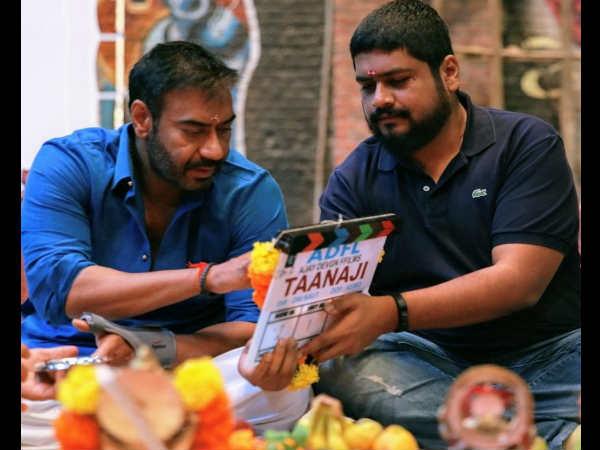 अजय देवगन की फिल्म 'तानाजी'- दमदार बॉयोपिक की हो गई शुरुआत- देंखे तस्वीर