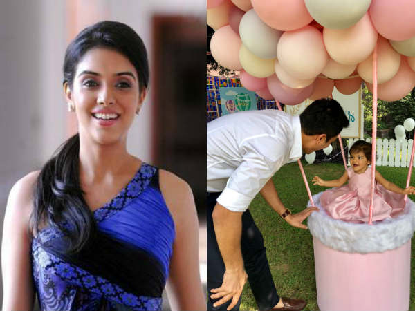 गजनी गर्ल असिन की बेटी की पहली तस्वीर वायरल, जन्मदिन पर अरिन पहली बार आई सामने