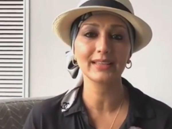 कैंसर से लड़ रही सोनाली बेंद्रे ने आखिर किसके लिए पोस्ट किया इमोशनल वीडियो, देखिए