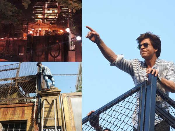 संवरने लगा मन्नत, शाहरुख खान 2 नवंबर को मनाएंगे जन्मदिन, फैंस ने शेयर की तस्वीरें