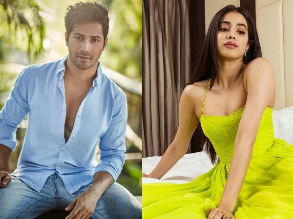 Janhvi Kapoor and Varun Dhawan