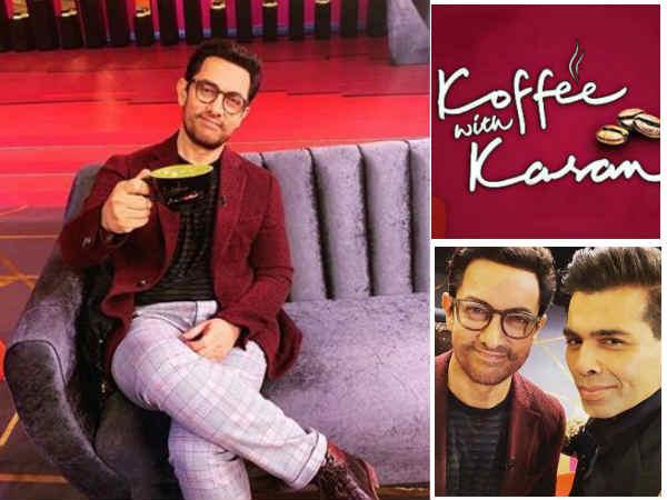 First Pic: कॉफी विद करण सीज़न 6 की शूटिंग करने पहुंचे आमिर खान, देखिए पहली तस्वीर