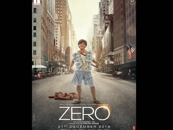 जीरो पोस्टर: कभी देखा है ऐसा दूल्हा, रिलीज हुआ शाहरुख खान का नया बउवा पोस्टर