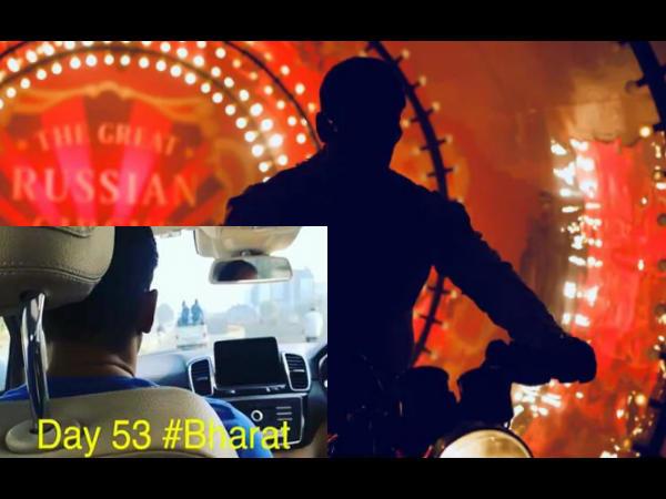 Bharat: सलमान खान कर रहें हैं पुलिस की गाड़ी का पीछा, सेट से वायरल हुआ है शानदार Video