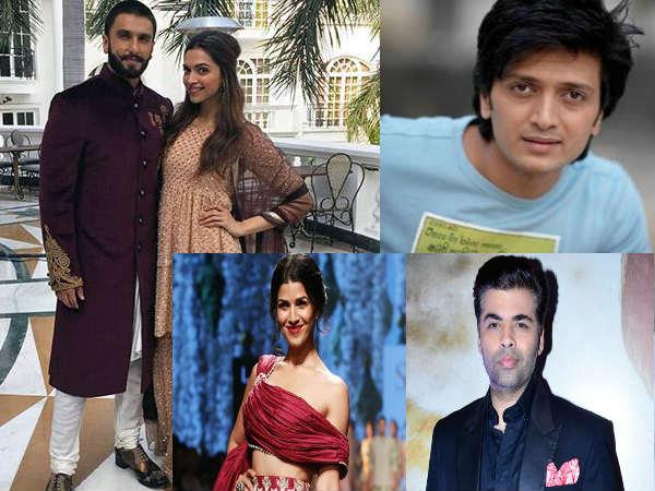 शादी होते ही बॉलीवुड सितारों ने रणवीर-दीपिका को दी शादी की शुभकामनाएं, देखें लाजवाब Tweets