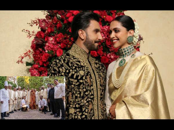 Omg: रणवीर-दीपिका की कोंकणी शादी में इतने खानसामों ने बनाया था लाजवाब खाना, Photo वायरल