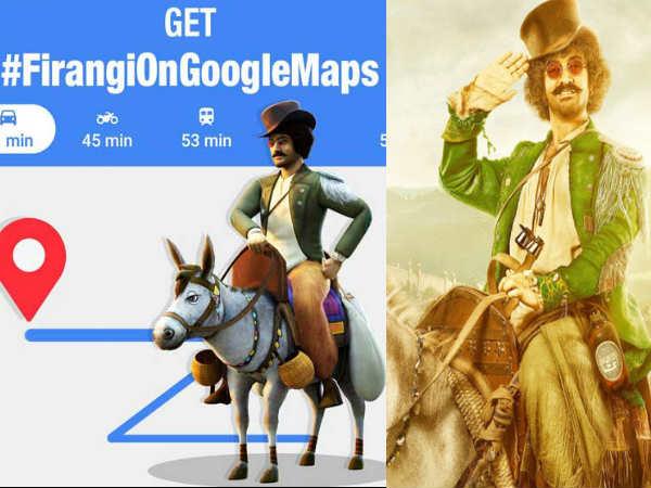 ठग्स ऑफ हिंदोस्तान: फिरंगी मल्लाह आमिर खान, गधे पर बैठ Google Map पर दिखाएंगे रास्ता