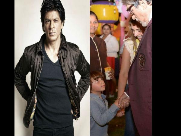 अबराम की जिद पर अमिताभ बच्चन को घर में रहने के लिए शाहरुख खान की गुजारिश, Tweet किया