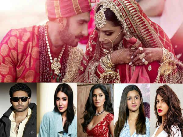 Congrats DeepVeer: अनुष्का, कैटरीना, आलिया, अर्जुन, अभिषेक, प्रियंका समेत पूरे बॉलीवुड ने दी बधाई