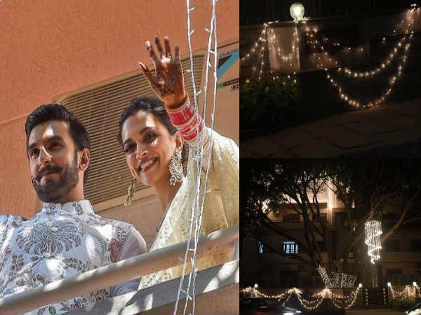 सज गया रणवीर सिंह का ससुराल, दीपिका के घर बैंगलोर में आज होगी शानदार रिसेप्शन पार्टी
