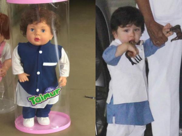 तैमुर अली खान का सुपर स्टारडम- बाज़ार में मिल रहे हैं 'तैमुर गुड्डे'- यहां देंखे PICS
